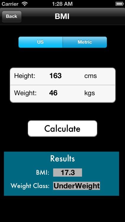 BMI - BMR - Body Fat Percentage Calculator Free screenshot-4