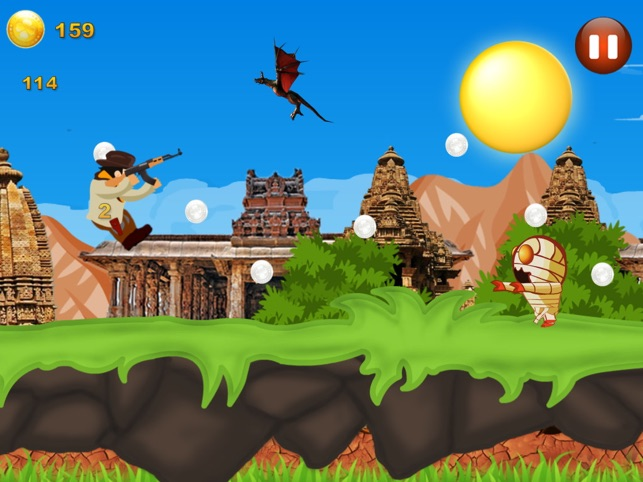 Adventure Temple - Jump and Run Game