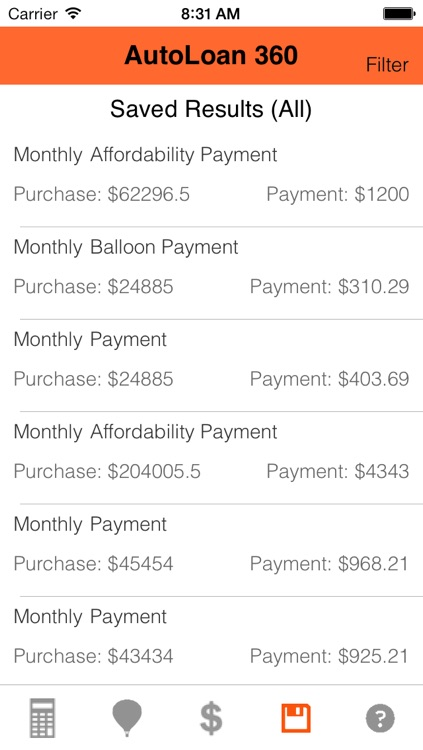 Auto Loan Calculator 360 screenshot-3