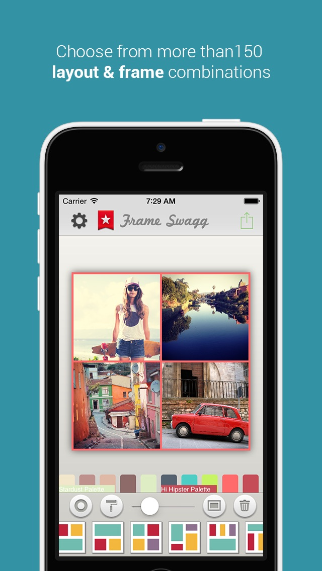 Frame Swagg Photo Collage Maker To Stitch Pic For Instagram Free