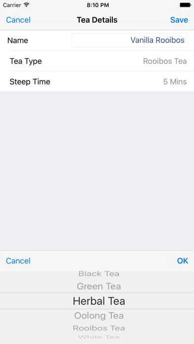 iSteep - Tea Timer screenshot four
