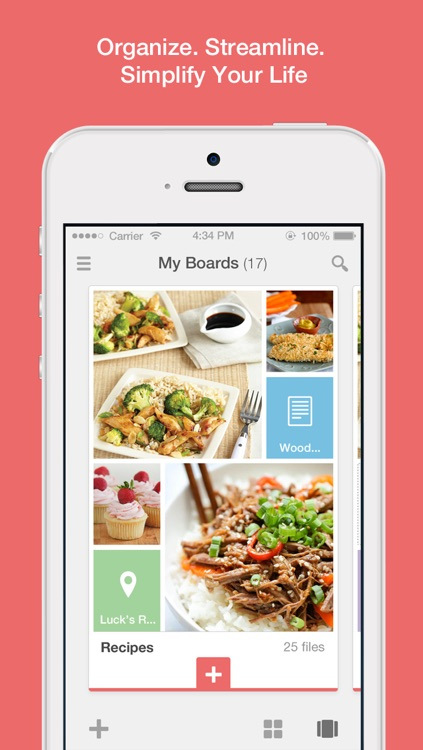 ClipUp - Collect, Organise and Present images, videos, websites and text notes