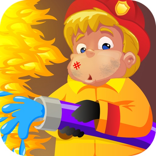 Fireman Rescue - Occupational Games for Kids