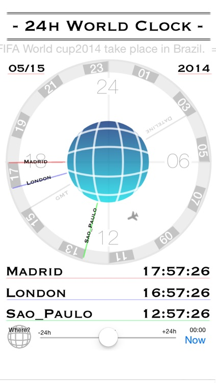 24h World-Clock