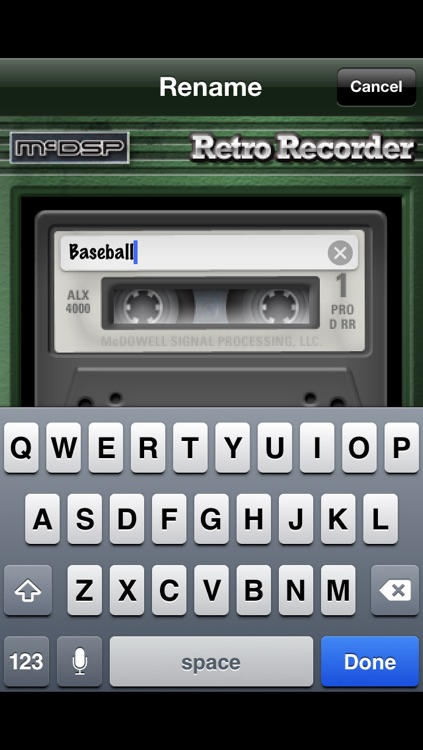 Retro Recorder screenshot-2