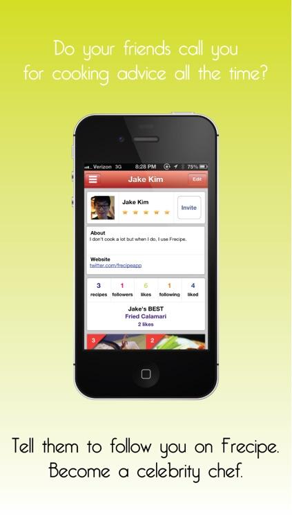 Frecipe - Cooking 101 screenshot-3