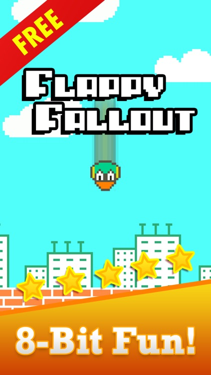 Tiny Fall-Out Bird Smash-y - Catch The End Of A Flappy Falling Squishy Chick