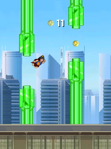 Super Flappy Justice League- Play Free Comic Hero Edition-ipad-1