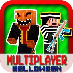 Ace Cops N Robbers - Halloween Block MC FPS Edition