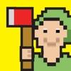 LumberJack Cut The Beanstalk: Lumberman Edition - 8 bit Pixel Fun Kids Games