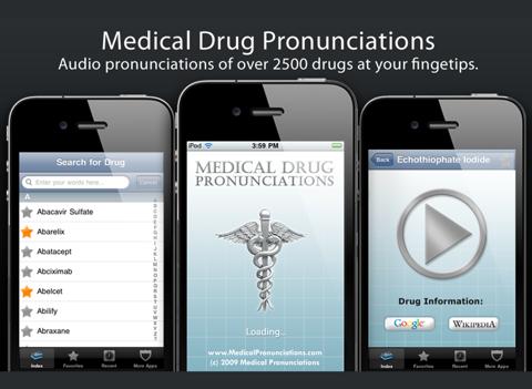 Drug Pronunciations Liteのおすすめ画像1
