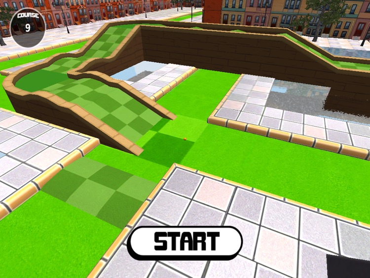 Micro City Golf - for the iPad screenshot-0