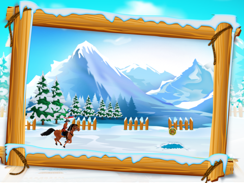 Canadian Mounted Police Horse Training : The Agility Test Racing Course - Free-ipad-3
