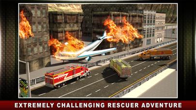 空港レスキュートラックシミュレータ - リアルな3D交通環境のグレート飛行場仮想運転技術のおすすめ画像4