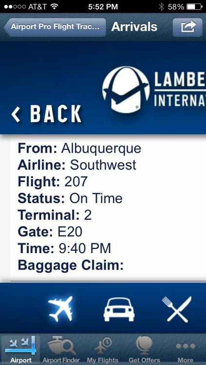 St. Louis Airport + Flight Tracker screenshot-4
