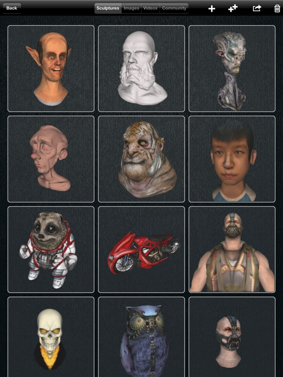 123D Sculpt screenshot-4
