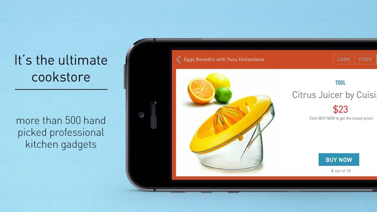 Look & Cook - Experience Food, Recipes & Kitchen Gadgets! screenshot-4