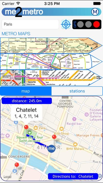 me 2 metro Paris underground