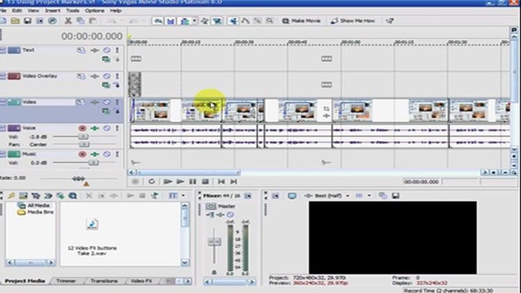 Easy Training for Sony Vegas Pro 8 screenshot-3