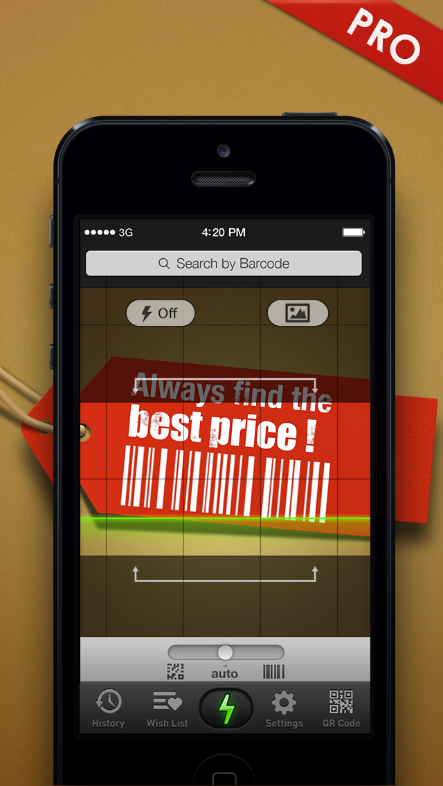 Quick Scan Pro - QR & Barcode Scanner screenshot one