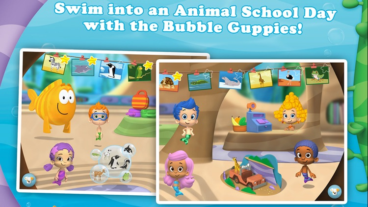 Bubble Guppies: Animal School Day screenshot-3