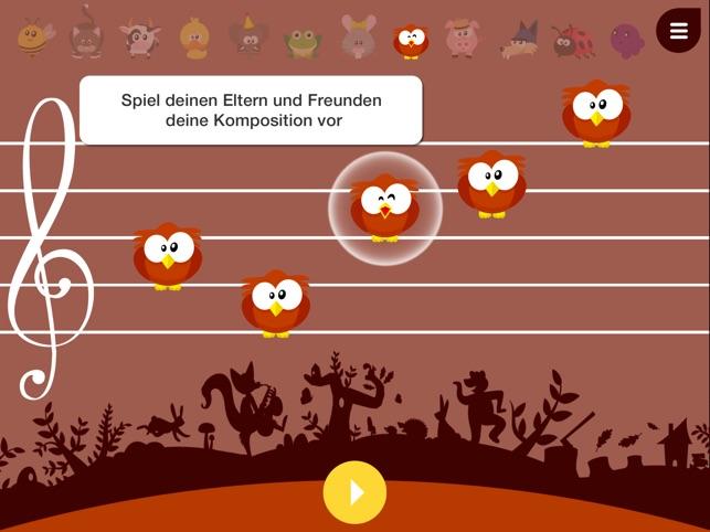 Music4Babies - Mit den Tieren Musik lesen und schreiben lernen Screenshot