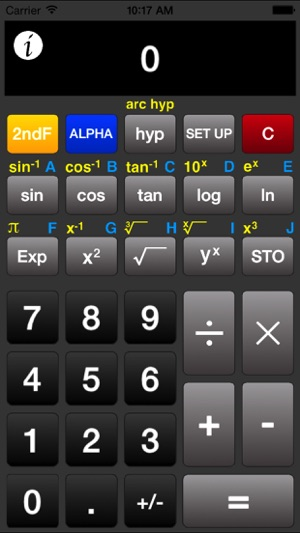 Acalc Free Scientific Calculator For Iphone Ipad And Ipod Touch 4
