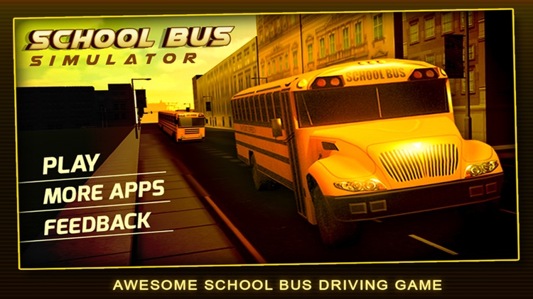 School Bus Simulator 3D – Drive crazy in city & Take Parking duty challenges for kids fun screenshot-4
