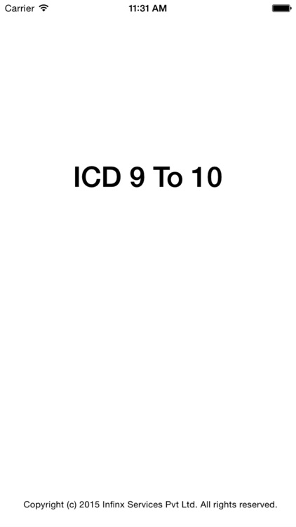ICD 9 TO 10 screenshot-0
