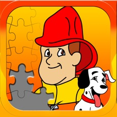 Activities of Fireman JigSaw Puzzle - Free Jigsaw Puzzles for Kids with Fun Firetruck and Firemen Cartoons - By Ap...