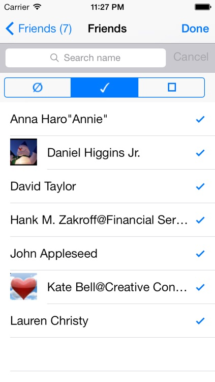 Contacts Group Manager - GroupQ screenshot-3