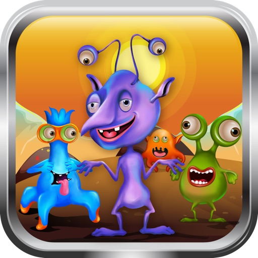 Alien Puppy Martian Pet Lite - Kids Game icon