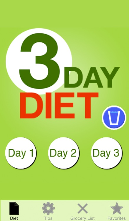 The 3 Day Diet screenshot-0