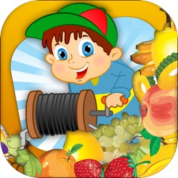 Sweet Fruit Collector - Speedy Grab and Pull Game for Kids