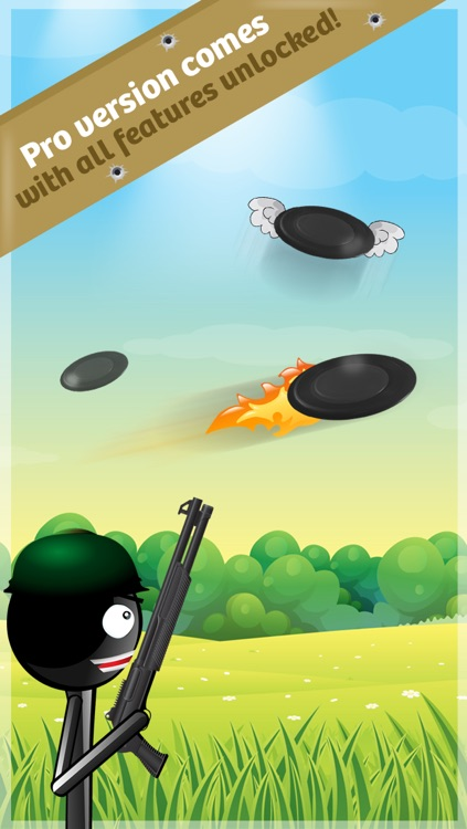 Stickman Skeet Shooting -  The Clay Pigeon Hunt FREE screenshot-3