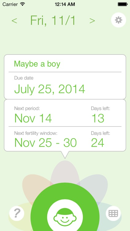 Ovulation and Pregnancy Calendar Pro (Fertility Calculator, Gender Predictor, Period Tracker)