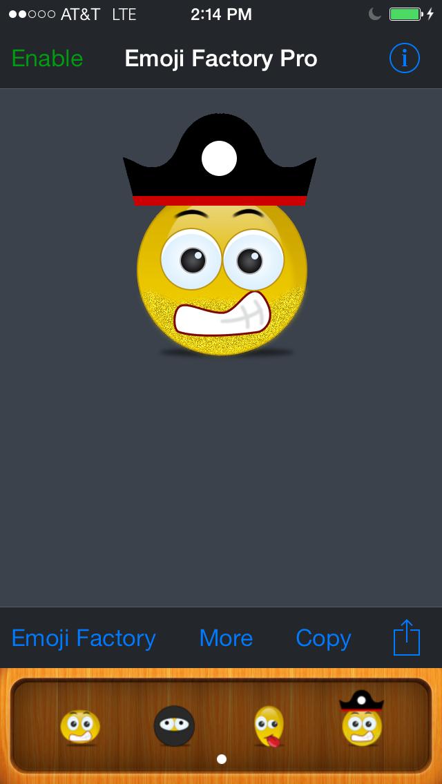 Emoji Factory - Emoticon Icon Maker screenshot one