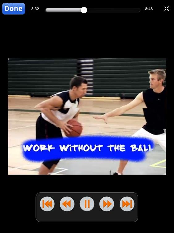 Unstoppable Offensive Moves: Volume 2 - Post & Interior Scoring Skills - With Ganon Baker - Full Court Basketball Training Instruction - XL screenshot-4