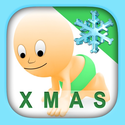 Christmas Puzzle for Babies Free: Move Winter Cartoon Images and Listen Sounds of Animals or Tools with Best Jigsaw Game and Top Fun for Kids, Toddlers and Preschool