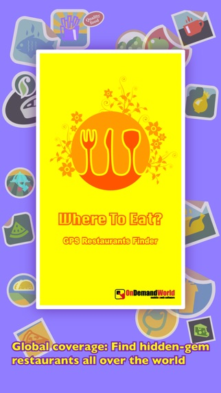 Screenshot for どこで食べよう?PRO - GPSを使ってレストランを探そう in Japan App Store