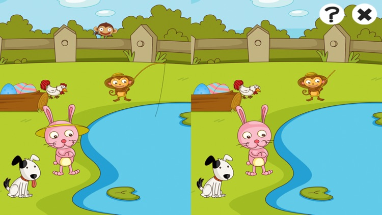 Active Easter! Learning games and puzzles for children age 2-5: Learn with bunny, eggs and rabbit screenshot-4
