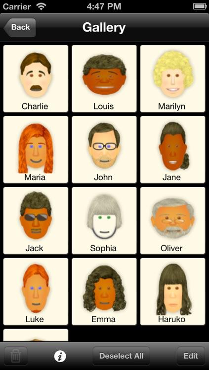 Memo for Faces