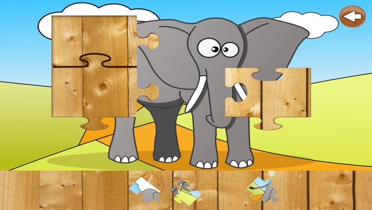 Animal Puzzle for Kids & Toddlers screenshot-3