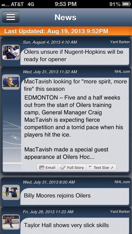 Edmonton Hockey Live screenshot-3