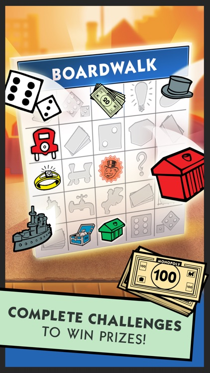 Boardwalk Bingo: A MONOPOLY Adventure screenshot-3