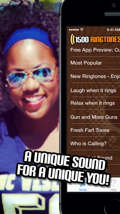 1500 Ringtones Unlimited - Download the best iPhone Ringtones screenshot-4