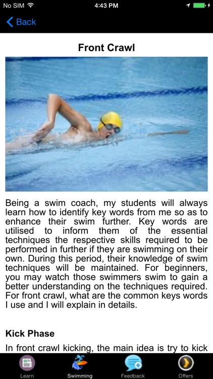 Learn How To Swim