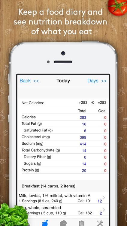 Track3 - Diabetes Planner, Diabetes Glucose Logbook, Diabetes Tracker, Carb Counter screenshot-4