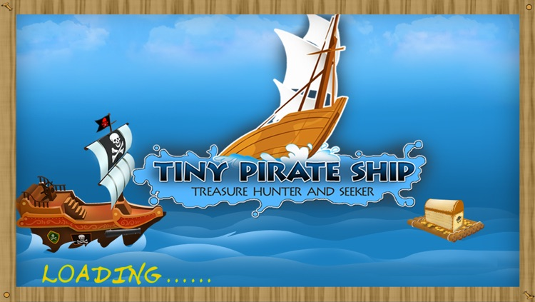 Tiny Pirate Ships : Treasures Hunter & Seeker - Free Edition screenshot-0