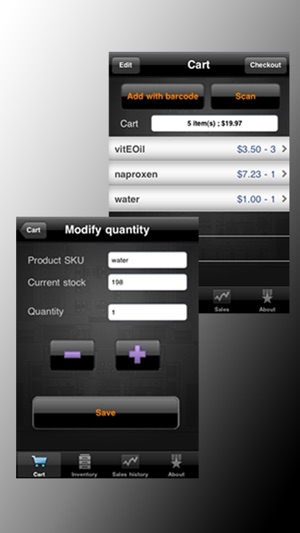 Cash Register Barcode Reader On The App Store - Barcode scanner invoice software